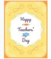 Tag des Lehrers Vektoren