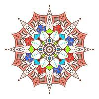 abstrakt mandala blomma vektor