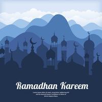 Ramadan Bakgrund vektor