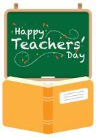 Lärarens dag vektor