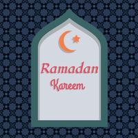 Ramadan bakgrundsvektor