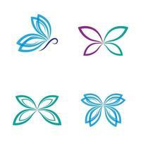 Schönheit Schmetterling Logo Bilder