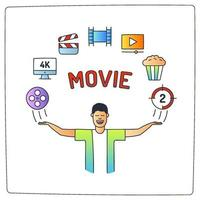 Kino Film Illustration