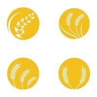 Weizen Logo Bilder vektor