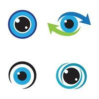Augenpflege-Logo-Bilder