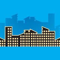 stadsbildsbilder illustration