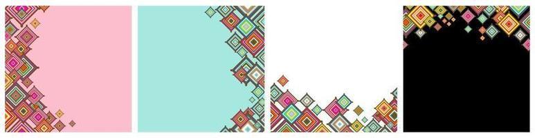 dekorative Grafik Dekor nahtlose Tapete vektor