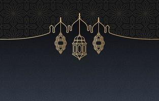islamisk arabisk lykta för ramadan kareem eid mubarak bakgrund