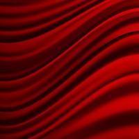realistisk färgglad röd sammet gardin bakgrund. vektor illustration.