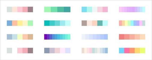 neuer Verlaufstrend. perfekte Farben für das Design. Vektor. vektor