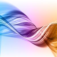 Abstrakter Flusshintergrund vektor