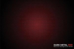 abstrakt metall röd och svart design vektor