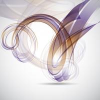 Abstrakt virvla bakgrund vektor