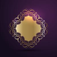 Dekoratives Hintergrunddesign vektor