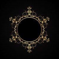 Luxus-Rahmenhintergrund vektor