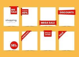 shopping försäljning mall affisch med text utrymme vektor