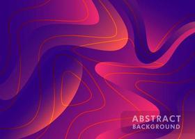 futuristischer Schablonenhintergrund im fließenden Stil vektor