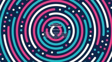 abstrakt platt centrerad cirklar bakgrund vektor