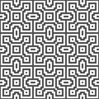 abstrakte nahtlose Punkt Quadrat Zickzack Formen Muster. abstraktes geometrisches Muster für verschiedene Designzwecke. vektor