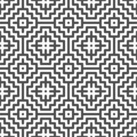 abstrakte nahtlose quadratische Zickzackformen Muster. abstraktes geometrisches Muster für verschiedene Designzwecke. vektor