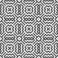 abstrakte nahtlose diagonale Kreuz quadratische Zickzackformen Muster. abstraktes geometrisches Muster für verschiedene Designzwecke. vektor
