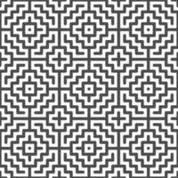 abstrakte nahtlose zentrierte quadratische Zickzackformen Muster. abstraktes geometrisches Muster für verschiedene Designzwecke. vektor
