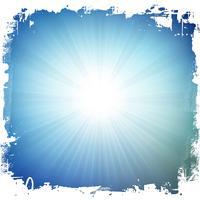 Grunge starburst bakgrund