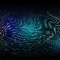 Abstrakt bakgrund med glödande prickar vektor