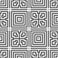 abstrakt sömlös roterad fyrkantig prick formar mönster. abstrakt geometriskt mönster för olika designändamål. vektor