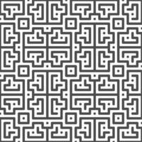 abstrakta sömlösa roterade fyrkantiga former mönster. abstrakt geometriskt mönster för olika designändamål. vektor