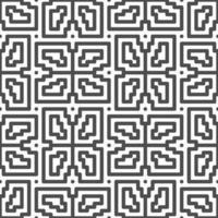 abstrakt nahtlos gedrehte quadratische Zickzackformen Muster. abstraktes geometrisches Muster für verschiedene Designzwecke. vektor
