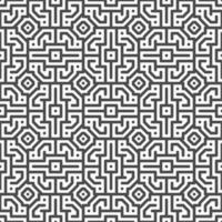 abstrakta sömlösa centrerade fyrkantiga former mönster. abstrakt geometriskt mönster för olika designändamål. vektor