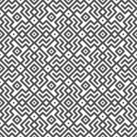 abstrakte nahtlos gedrehte Zick-Zack-Linie und quadratische Formen Muster. abstraktes geometrisches Muster für verschiedene Designzwecke. vektor