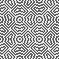 abstraktes nahtloses symmetrisches Quadrat und Zickzackformmuster. abstraktes geometrisches Muster für verschiedene Designzwecke. vektor