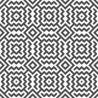 abstrakte nahtlose Zick-Zack-Linie und quadratische Formen Muster. abstraktes geometrisches Muster für Designzwecke. vektor