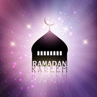 Ramadan Kareem Hintergrund vektor