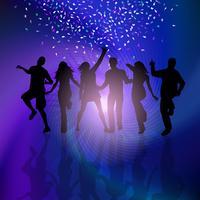 Party Leute Hintergrund