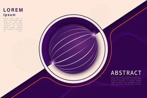 flüssige Farbe Hintergrund Design. Flüssigkeitsgradient formt Zusammensetzung. eps10 Vektor.