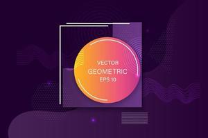 webb-flytande färgbakgrundsdesign. flytande gradient formar komposition. eps10 vektor.
