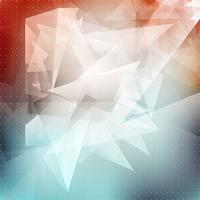 Abstrakter niedriger Polyhintergrund vektor