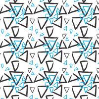 Handritad mönsterbakgrund vektor