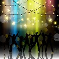Party Leute Hintergrund vektor