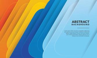 modernes abstraktes buntes Hintergrunddesign vektor