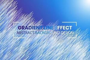 abstrakter Hintergrundentwurf des Verlaufslinieneffekts. vektor