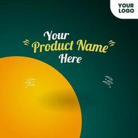Social Media Post Design. für die Werbung für Ihr Produkt vektor