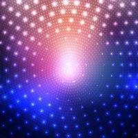 Disco beleuchtet Hintergrund vektor