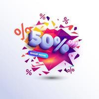 specialerbjudande banner försäljning marknadsföring webbmarknad affisch vektorfil vektor