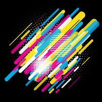 Abstrakt trendig design vektor