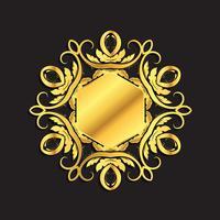 Guldbakgrund