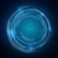 Techno-Binärcode-Hintergrund